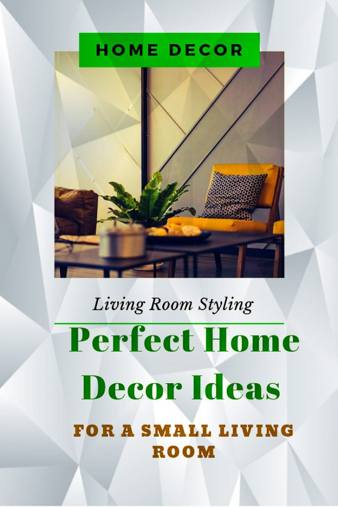 Styling tips for a small living room
