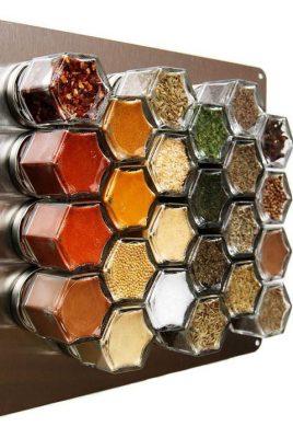 Kitchen Spice Organisation Ideas.