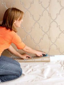 How to Hang Wallpapers When You Can't Pay a Professional